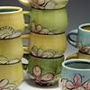 Floral Cup Stack