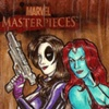 Marvel Masterpieces II Artist Proof: Domino & Mystique