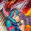 Marvel Masterpieces II Artist Proof: Archangel and Psylocke