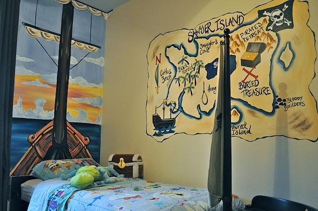 Sawyer's Pirate Room