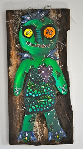 Creature from the Black Lagoon/Voodoo Hybrid