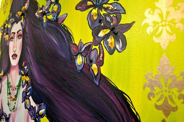 Iris - Detail Shot