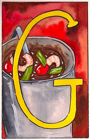 G is for Gumbo