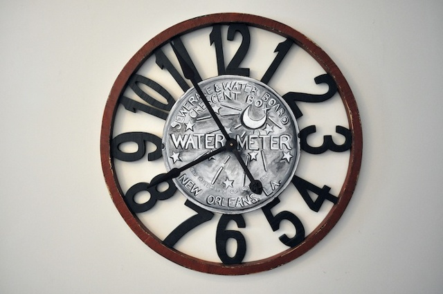 New Orleans Water Meter Clock
