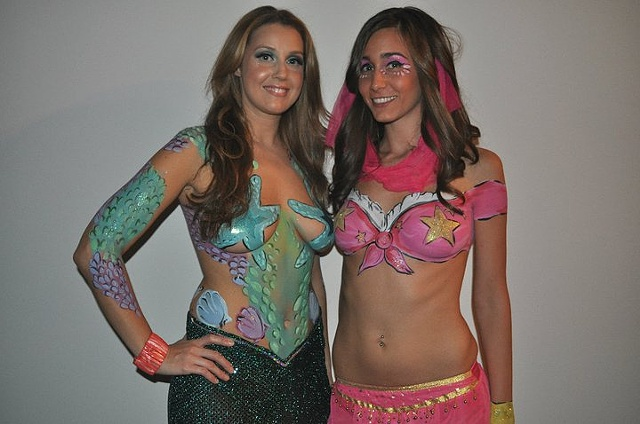 Mermaid and Genie