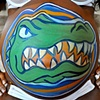 Pregnant Belly Painting - Florida Gators