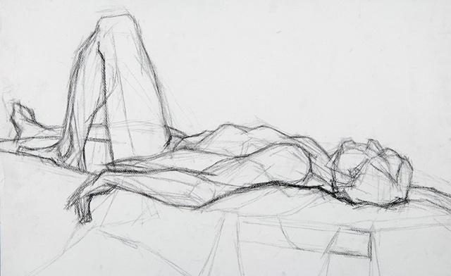 Male Model Reclining