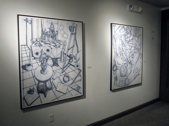2012 Solo Exhibit at Anderson University IN