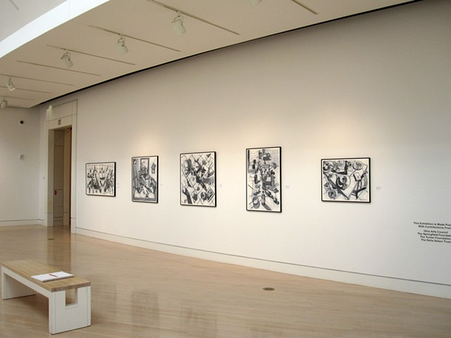 Springfield Museum of Art Ohio, Fine Lines, drawings