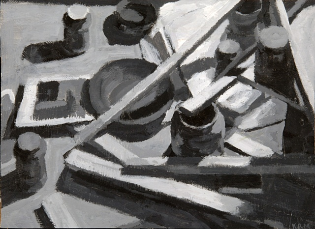 Pointing to Jar-Tonal Study
