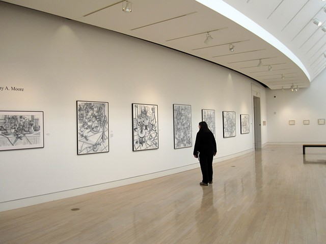 Fine Lines, Springfield Museum of Art ohio, drawings