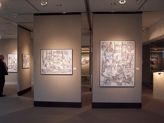 Solo exhibit at Sinclair Community College, Dayton, Ohio