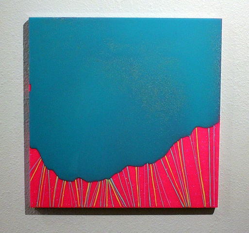 Resin, Lines, Shiny, Thick, Bold, Saturated, Gouache, Different