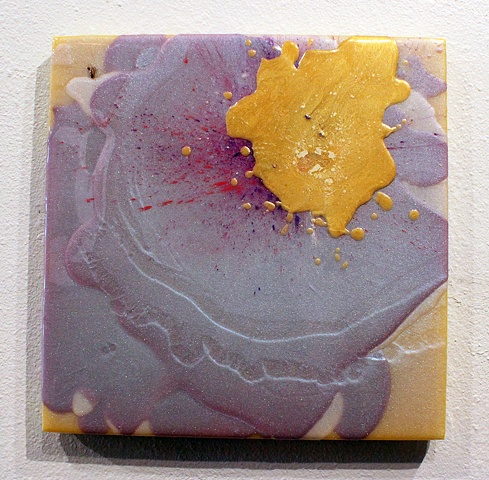 Yellow, Purple, Compliments, Bug, Splatters, Resin, Fun, Sensual