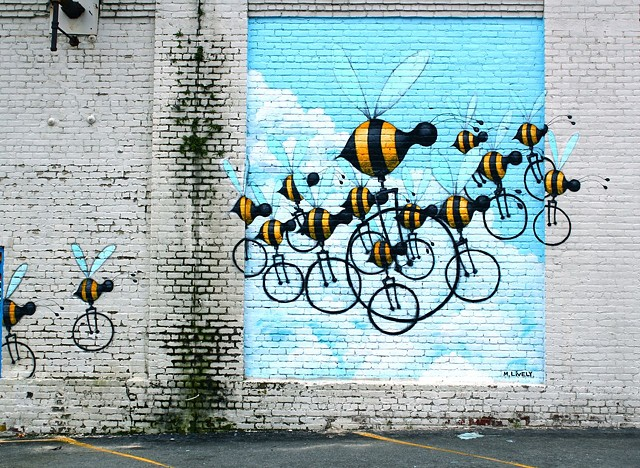Beecycles matt lively RVA Street Art