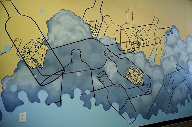 Matt Lively artist mural