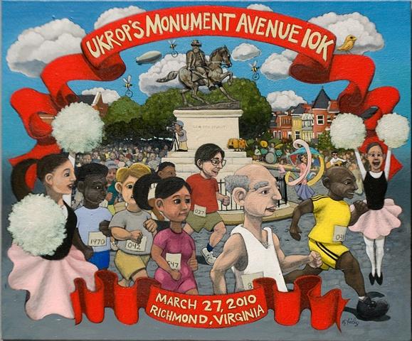 Ukrops Monument Avenue 10k poster