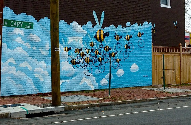Matt Lively Beecycle mural