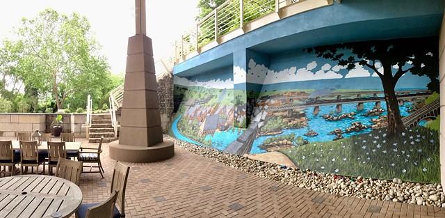 Matt Lively mural
