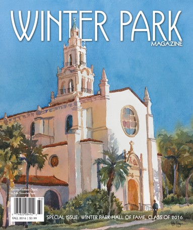 Winter Park Magazine Cover - Winter 2016