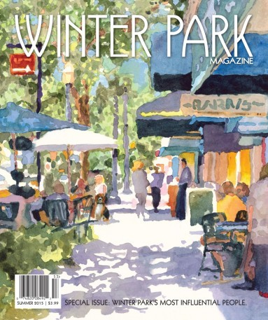Winter Park Magazine Cover - Summer 2015