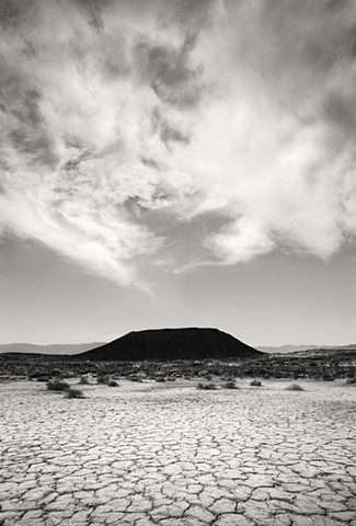 Amboy Crater From The East, Mojave Desert