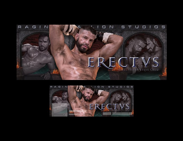 Logo, Design, Photo Editing & Composite by Norm Halm for Falcon Studios Group, Photography by Kent Taylor