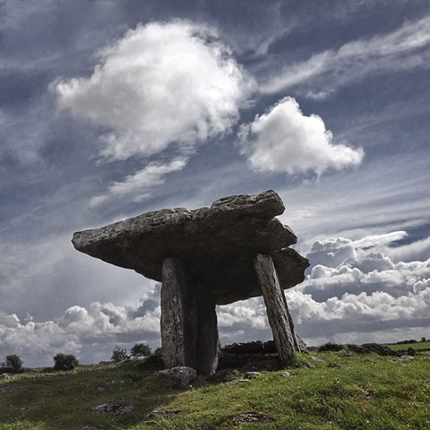 Poulnabrone Dolmen The Burren, County Clare Ireland