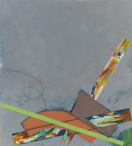 "Chris D Smith, BPOS, 2012, acrylic, oil and charcoal on panel, 40"" x 36"""