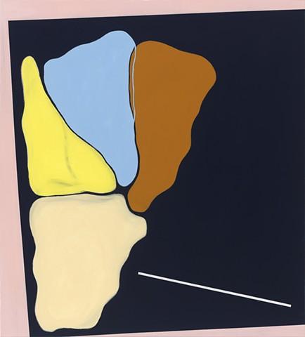 Chris Smith, Artist, Chicago, Abstract Artist, BPOS4, acrylic, charcoal and oil on canvas