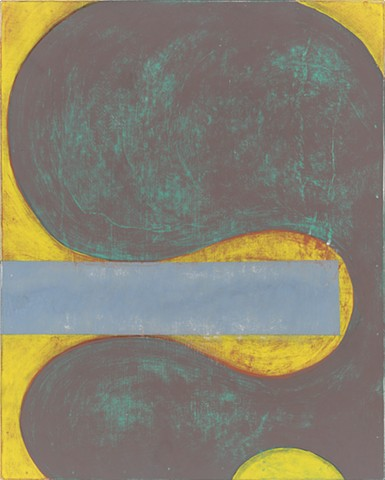 Chris Smith, Artist, Chicago, Abstract Artist, Untitled IM44, 2016, acrylic and charcoal on panel