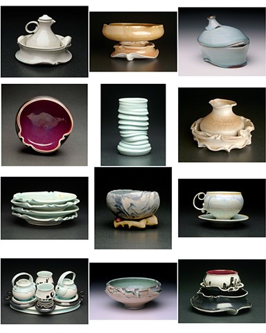 Thrown and Altered Porcelain 2003-ongoing