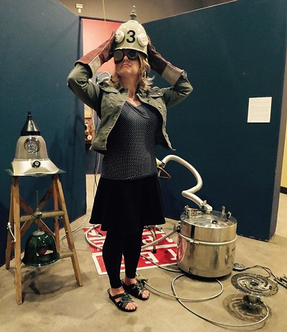 Elementary BASIC: A Steampunk Primer @Penticton Art Gallery 2015