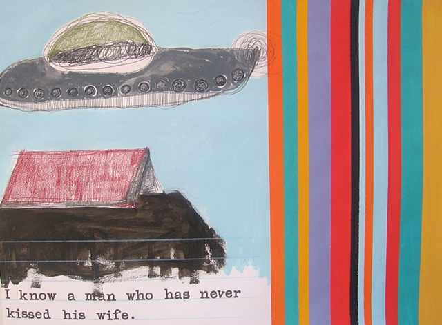 UFO Series Drawing #33