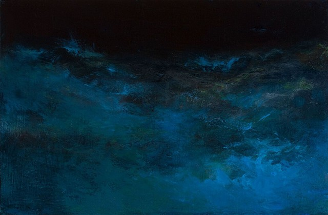 """Sea of Night Provincetown 2"", (for Brian)"