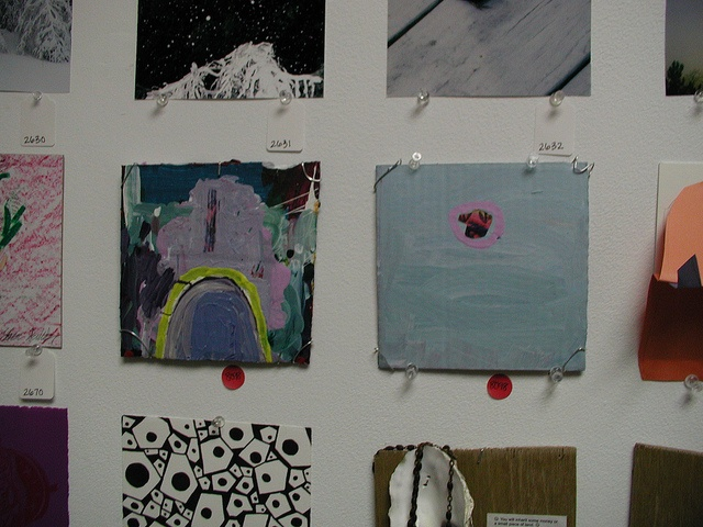My two paintings in 6x6x2010, Rochester Contemporary Art Center, Rochester, NY, USA