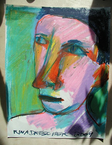 artist, Rina Miriam Drescher, portrait, affordable art, contemporary art, art
