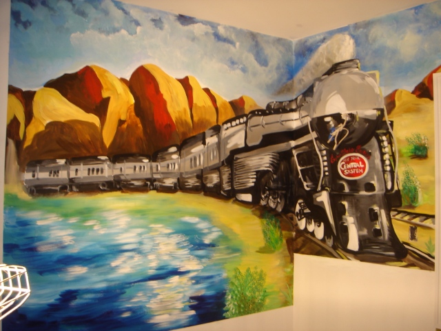 EJ's Train/children room