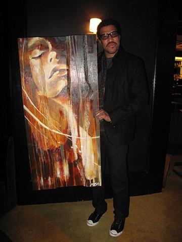 """L.A."" custom piece for Lionel RIchie"