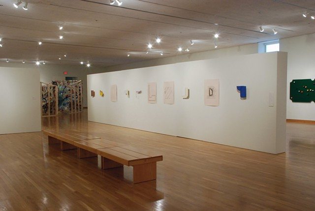 Installation shot from the South Bend Museum of Art