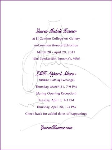Lauren kasmer uncommon threads opening invitation stopboris Choice Image