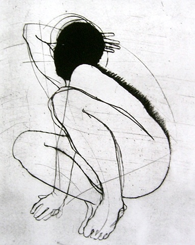 Kitty blandy drypoint