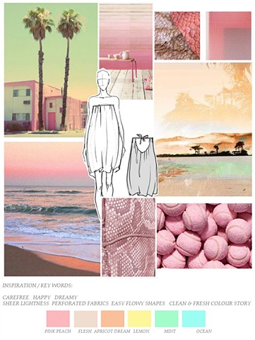 PASTEL SUNSET / SS'16 TREND AND COLOUR