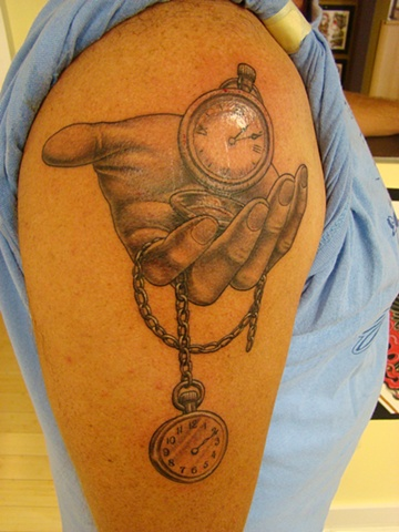 Brainstorm Tattoo Pocket Watch