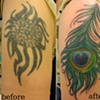 peacock cover-up