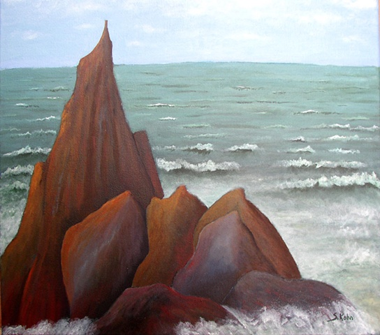 Seascape No. 7: The Rock