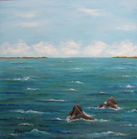 Seascape No. 4: Outward Bound
