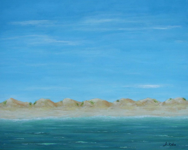 Seascape No. 8: The Beach