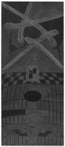 image of modern graphite artwork by artist Michael Tegland