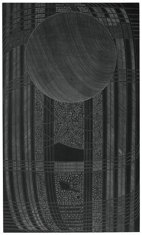 modern graphite drawing by artist Michael Tegland